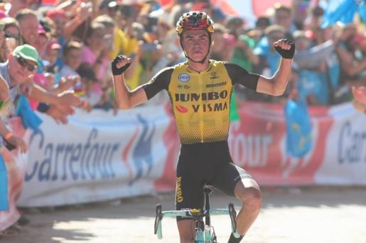 El ciclista estadounidense Sepp Kuss (Jumbo-Visma) se ha adjudicado la decimoquinta etapa de la Vuelta a España.