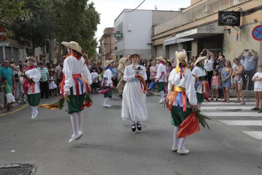 Las 'cossieres' fueron las grandes protagonistas este domingo en Son Sardina