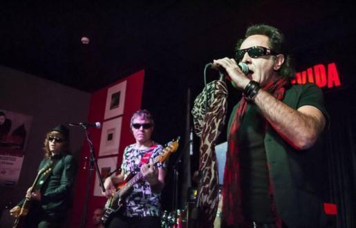 Imagen de un concierto de Burning.
