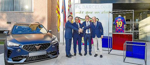 CUPRA se convierte en el socio global de automoción y movilidad del Barça.
