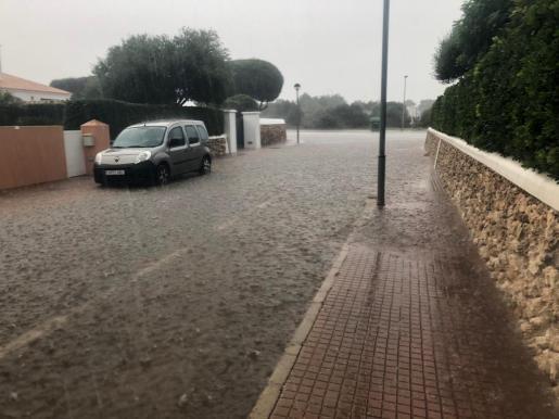 Inundaciones en Menorca.