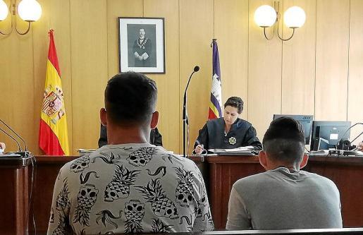 Imagen del juicio celebrado el pasado 29 de agosto por los robos a los taxistas.