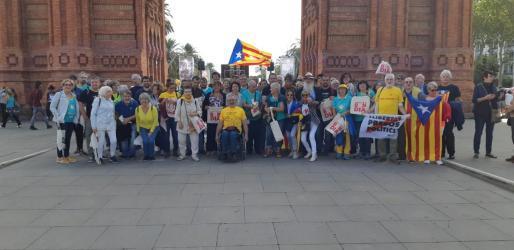 La representación mallorquina se ha fotografiado este miércoles en Barcelona.