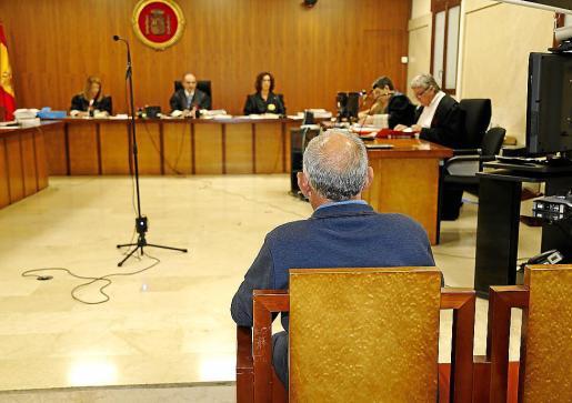 Miguel Pascual, este miércoles en el juicio en la Audiencia Provincial.