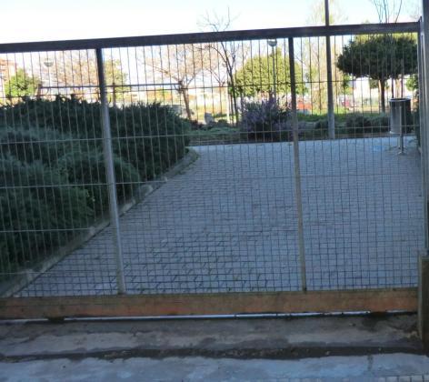 Imagen de archivo de un parque cerrado en Palma.