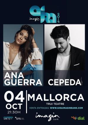 Ana Guerra y Cepeda actuarán en Trui Teatre.