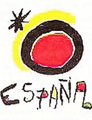Logotipo de Joan Miró de Tourespaña.
