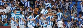 La Real Sociedad gana en el nuevo Anoeta ante un Atlético desconocido