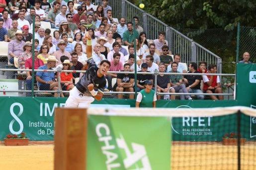 Imagen de Jaume Munar en el Challenger ATP de Sevilla.