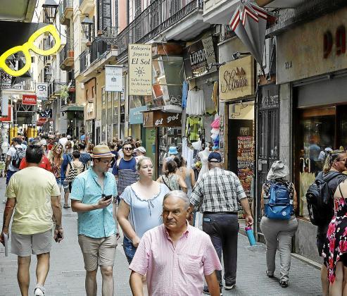 El incremento registrado en Balears en los primeros siete meses del año fue del 3,9 % respecto al de 2018