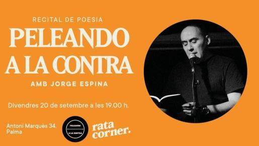 El poeta y editor Jorge Espina es el invitado de Peleando a la Contra en Rata Corner.