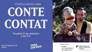 Cuentacuentos en Rata Corner con Conte Contat
