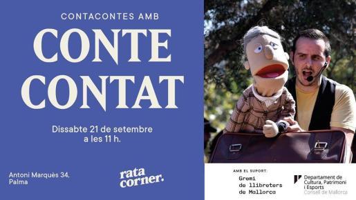 Cuentacuentos en Rata Corner con Conte Contat.