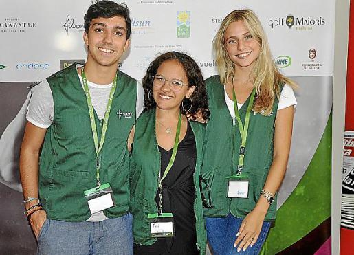 Pablo Juanico, Camila Durán y Maria Baos.
