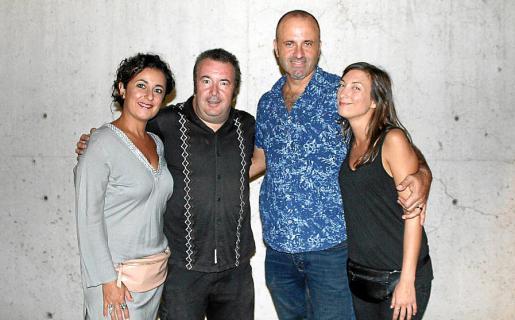Mariola Chaves, Peter Terrassa, el Dj Fran Bass y Clara Sanchís.
