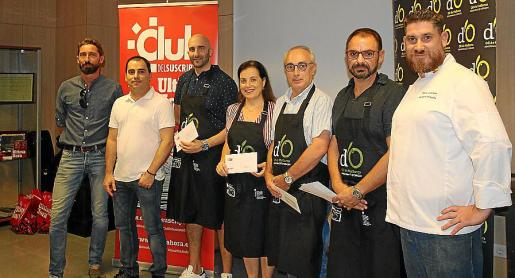 David Ribas, Miguel Navarro, José Manuel Mínguez, María Ramos, José Jacinto Ortega, Llorenç Sansó y Pinxo González.