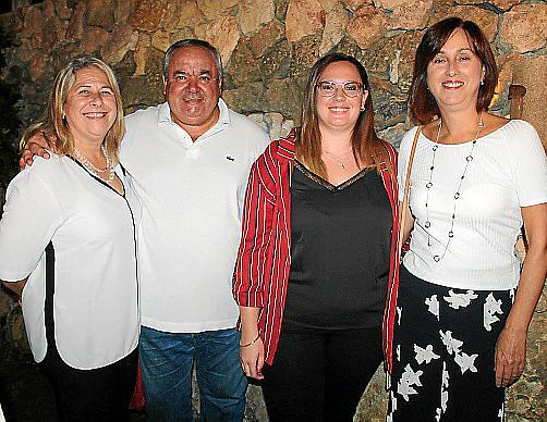 Elena Sánchez, Toni Quetglas, Lorena Verdera y Marilena Canals.