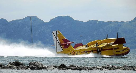 El permiso prevé que puedan amerizar un total de 50 hidroaviones al año en Pollença.
