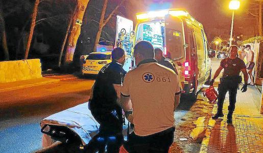 La Policía Local fue la encargada de reducir y detener al presunto suicida de Capdepera.