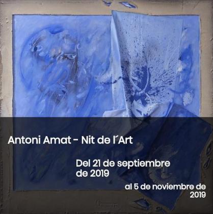 La Galería Gabriel Vanrell expone a Antoni Amat en la Nit de l'Art 2019.