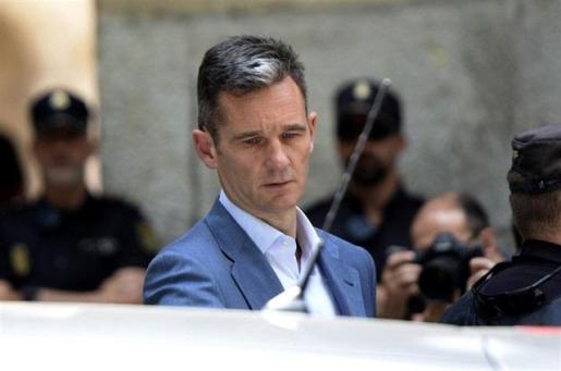 Iñaki Urdangarin, en Palma tras conocerse la sentencia del caso Noos.