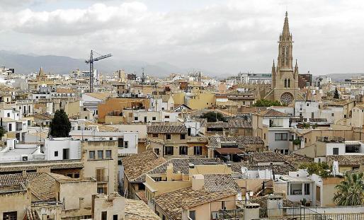 El precio del suelo urbano en Palma es el tercero más alto de España.