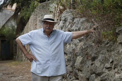 El músico Tomeu Estaràs, de Los Valldemossa.
