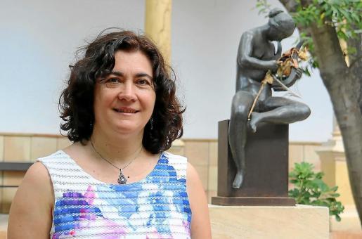La autora de la obra, Maria Magdalena Gelabert.