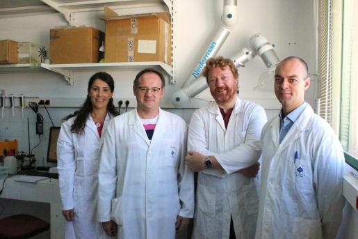 Imagen del equipo de investigadores.