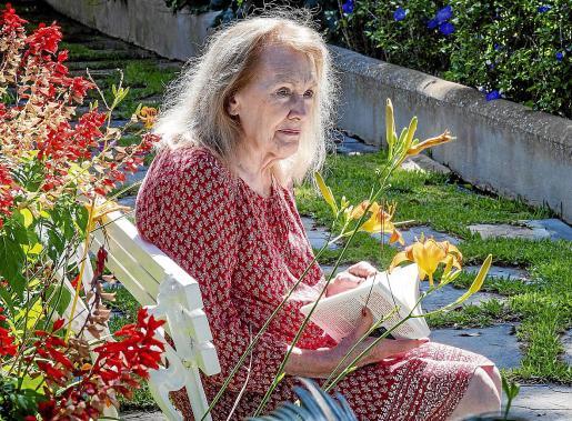 La escritora francesa Annie Ernaux posó este viernes en Formentor para este periódico.