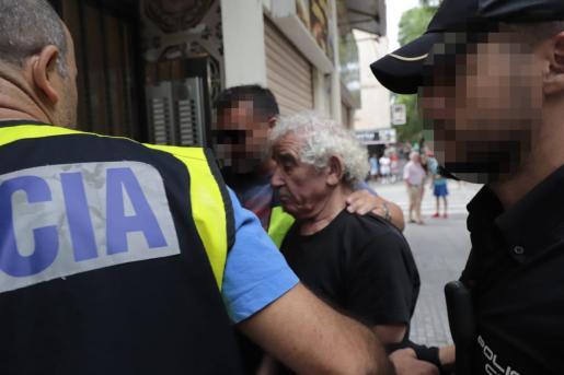 La policía detuvo al presunto autor del homicidio en Son Gotleu.
