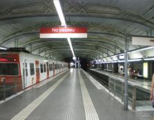 metro de Plaza Catalunya