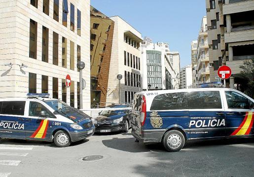El accidente tuvo lugar en la sede de la Dirección Provincial de la Seguridad Social.