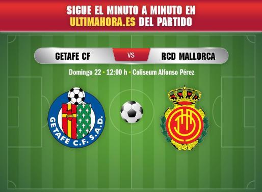 El Real Mallorca visita este domingo el Coliseum Alfonso Pérez para enfrentarse al Getafe en la quinta jornada de la Liga Santander.