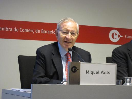 Miquel Valls, presidente de la Cámara de Comercio de Barcelona, ha fallecido.