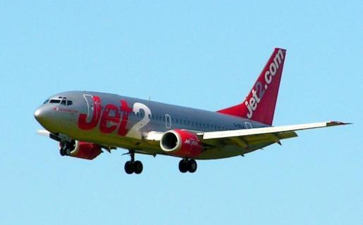 Aeronave de Jet2 en una imagen de archivo