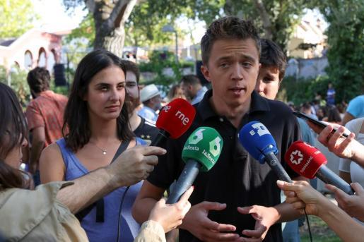 El portavoz de Más Madrid en la Asamblea, Íñigo Errejón.