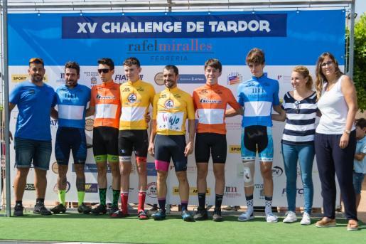 Imagen del podio final de la Challenge de Tardor que ha vivido su última prueba en la localidad de Cala d'Or.