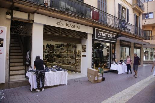 Comercios de Palma.