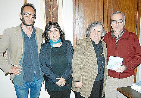Javier Vellé, Maribel Morueco, Maria Llaner y Miquel Àngel Lladó.