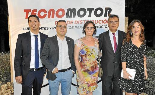 Toni Rosselló, Carlos Pons, Miriam Mayol, Sebastià Salas y Marga Noguera.