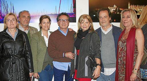 Regina Zaforteza, Juan Pasarón, Catin Darder, Jaime LLabrés, Maite Galán, Miguel Font y Magdalena Janer.