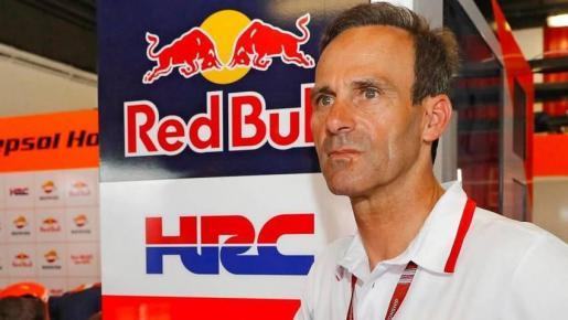 El 'team manager' del Repsol Honda, Alberto Puig.