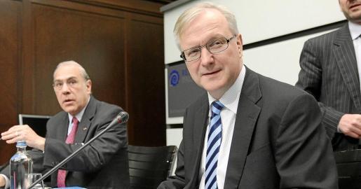 El comisario europeo de Política Económica y Monetaria, el finlandés Olli Rehn, apoyó ayer la postura española sobre el fondo de rescate de la banca.