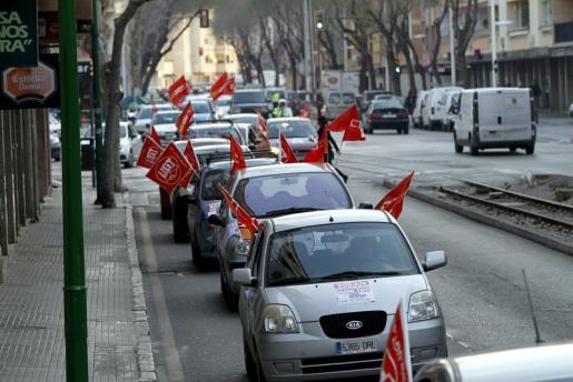 La caravana ha recorrido las principales de Ciutat.