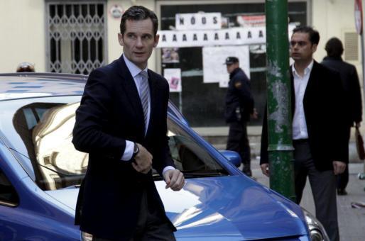 Iñaki Urdangarin declaró en Palma el pasado 25 de febrero.