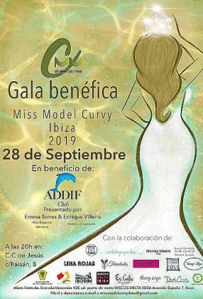 Desfile de moda curvy para ayudar a la asociación ADDIF.