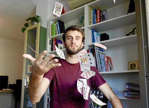 Palma discreto uh entrevista mago fotos: pellicer