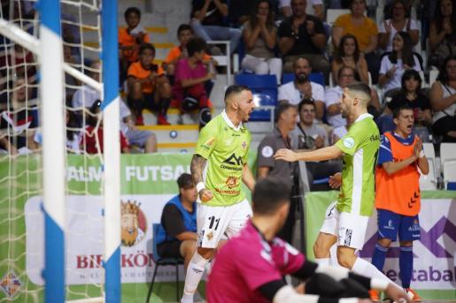 Ximbinha fue el autor de los dos goles del Palma Futsal.