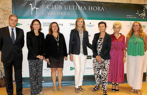 Josep Maria Ramis, Paula Serra, Fanny Tur, Cristina Morató, Carmen Serra, María Magdalena Frau y Lucía Escribano.